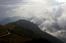 黄岗山云雾缭绕