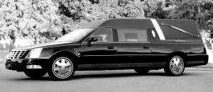 国内首辆超豪华卡迪拉克殡仪专用车。范宇