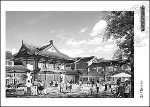 大唐西市盛世商魂 高清图片