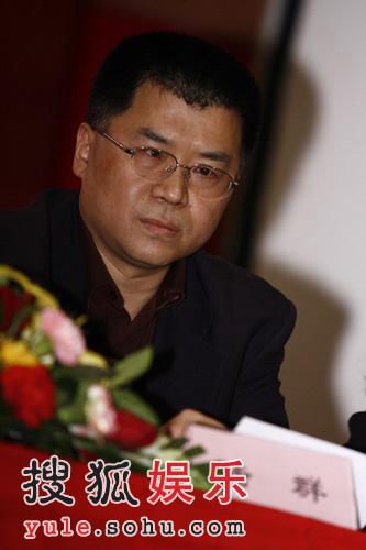"""图:""""快乐男声""""发布会-南京广电集团团委委员"""