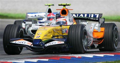 图文:[F1]马来西亚站练习 科瓦莱宁测试