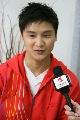图文:田亮亲口确认已退役 接受华奥记者专访