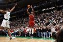 图文:[NBA]热火胜凯尔特人 波西三分出手