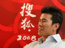 图文:搜狐专访候选人韩晓鹏 韩晓鹏面露微笑