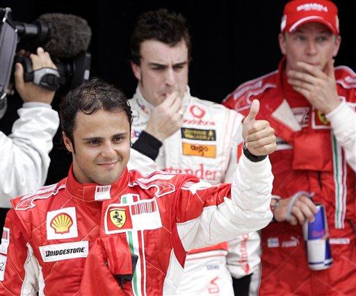 图文:[F1]07马来西亚站排位 马萨战胜阿隆索