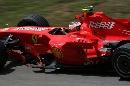 图文:[F1]马来西亚站排位赛 莱科宁在比赛中