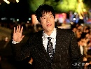 图文:CCTV体坛风云人物颁奖典礼 刘翔可爱表情