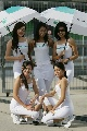 图文:[F1]马来西亚站美女 专业的POSE