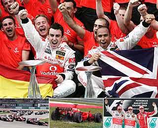 F1马来西亚站视频