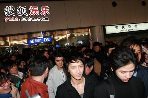 SJ机场被拥堵