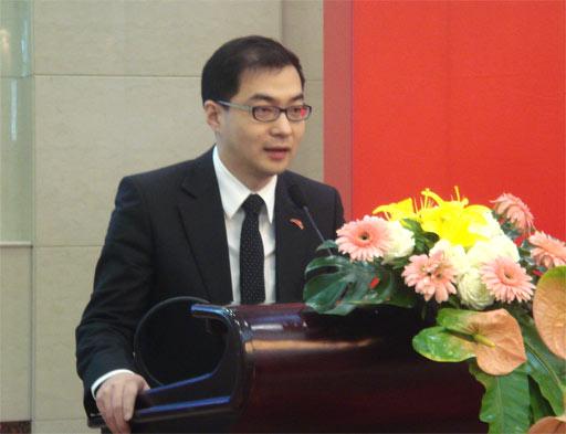 安踏体育营销总监徐阳发言
