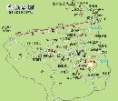 香山公园地形简图