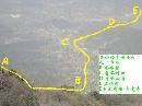 香山攀登路线图