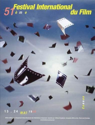 图:戛纳电影节历届海报—1998年
