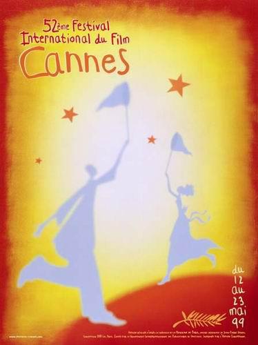 图:戛纳电影节历届海报—1999年