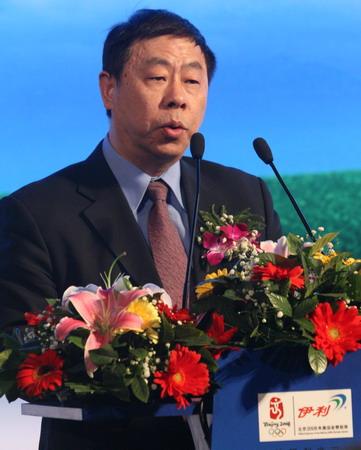 图文:伊利奥运健康中国行启动 周经致辞