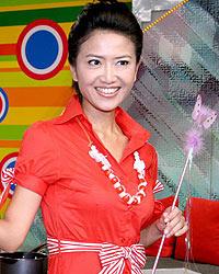 台湾艺人谢雅琳代言该产品