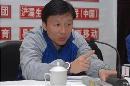 图文:[中超]陕西召开新闻发布会 成耀东泄愤