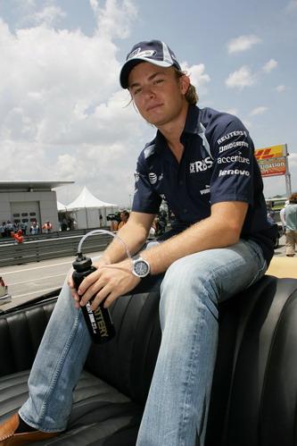 图文:[F1]澳大利亚站正赛 潇洒的罗斯伯格