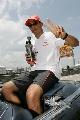 图文:[F1]马来西亚站正赛 自信的汉密尔顿