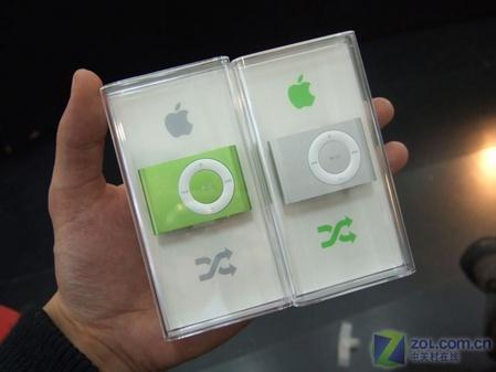 """""""绿苹果""""终现身 彩色shuffle 2全到齐"""