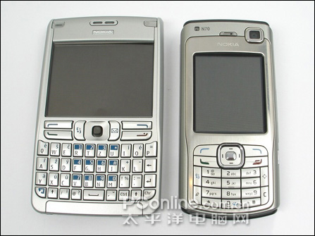 诺基亚手机E61与N70