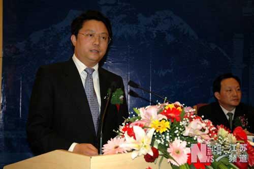 江苏省委常委、无锡市委书记杨卫泽致辞