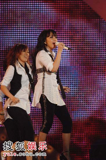 张惠妹现场表演