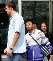 图文:菲尔普斯指导中国少年 小学生崇拜飞鱼
