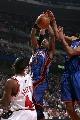 图文:[NBA]公牛大胜尼克斯  弗朗西斯上篮