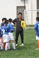 图文:U13出征亚足联足球节 范学伟指导小球员