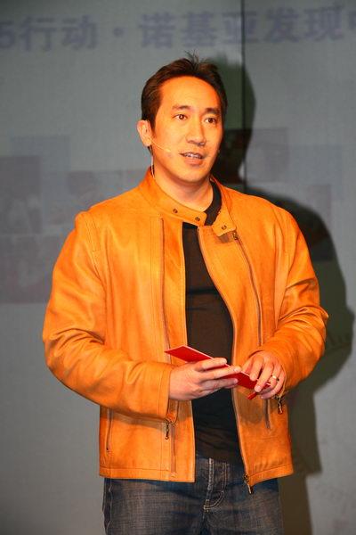 诺基亚大中国区多媒体事业部销售和渠道发展副总裁黄伽卫