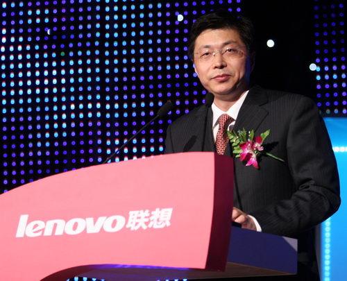 联想集团高级副总裁兼联想移动总经理 刘志军先生