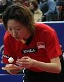 图文:巴西乒乓球公开赛 李佳薇位列头号种子