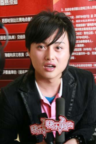 """图:""""快乐男声""""南京唱区选手风采-1"""