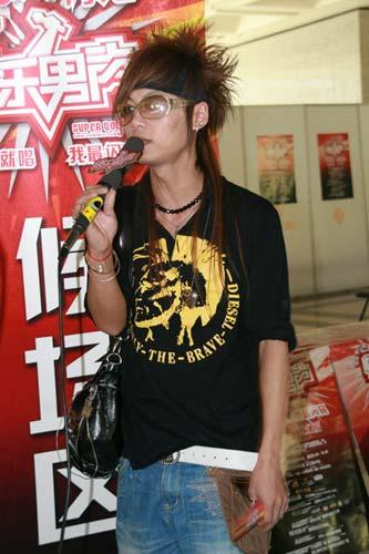 """图:""""快乐男声""""南京唱区选手风采-3"""