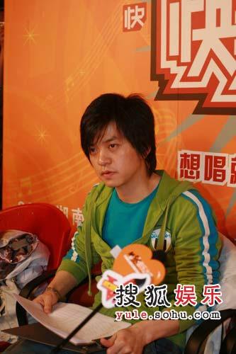 图:北京选拔现场-评委李健称不少选手有希望