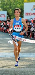 有望成为下一代长跑选手的日本东海大学学生佐藤悠基