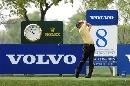 图文:VOLVO中国公开赛第三轮 张连伟大力开球