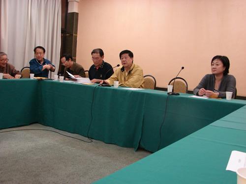 刘思明、武力参加领队会议