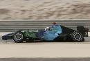图文:[F1]巴林大奖赛排位赛 巴顿在比赛中