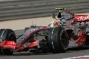 图文:[F1]巴林大奖赛排位赛 汉密尔顿使用软胎