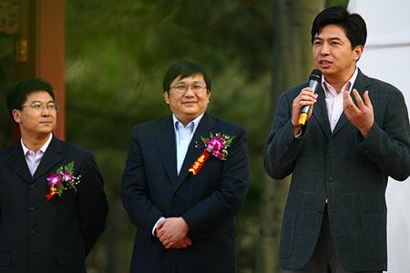 图文:青啤倾国倾城发布会 刘军发言