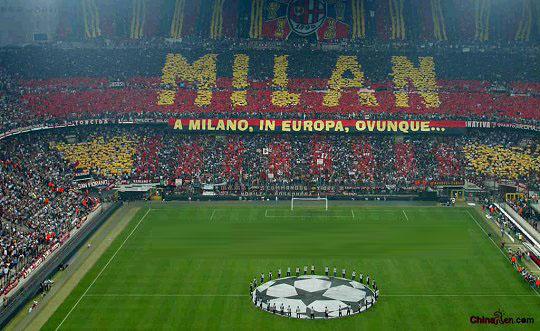 场_图文:意申办欧洲杯8大赛场 米兰圣西罗球场