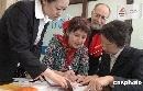 图文:北京奥运门票预订开始 俄罗斯外教订票
