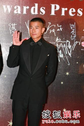 图:第26届香港金像奖--郭富城