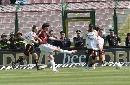 图文:[意甲]梅西纳VS米兰 卡卡破门瞬间