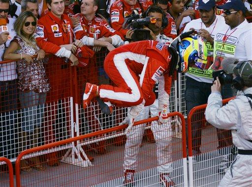 图文:[F1]巴林站正赛 马萨信心高涨