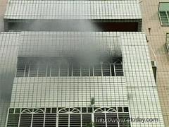 火灾现场(图:台湾东森新闻)