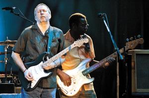 Eric Clapton上海演唱会现场